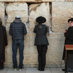 The Western Wall, Jerusalem, 2016